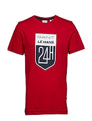 LM. SS T-SHIRT - RED