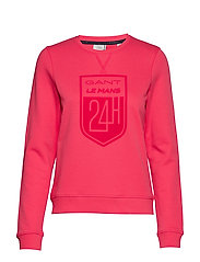 LM. LM C-NECK SWEAT - WATERMELON RED