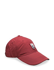 LM.NYLON CAP - MAHOGNY RED