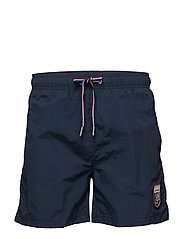 LM LE MANS SWIM SHORTS CLASSIC FIT - NAVY