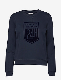 LM. LM C-NECK SWEAT - EVENING BLUE