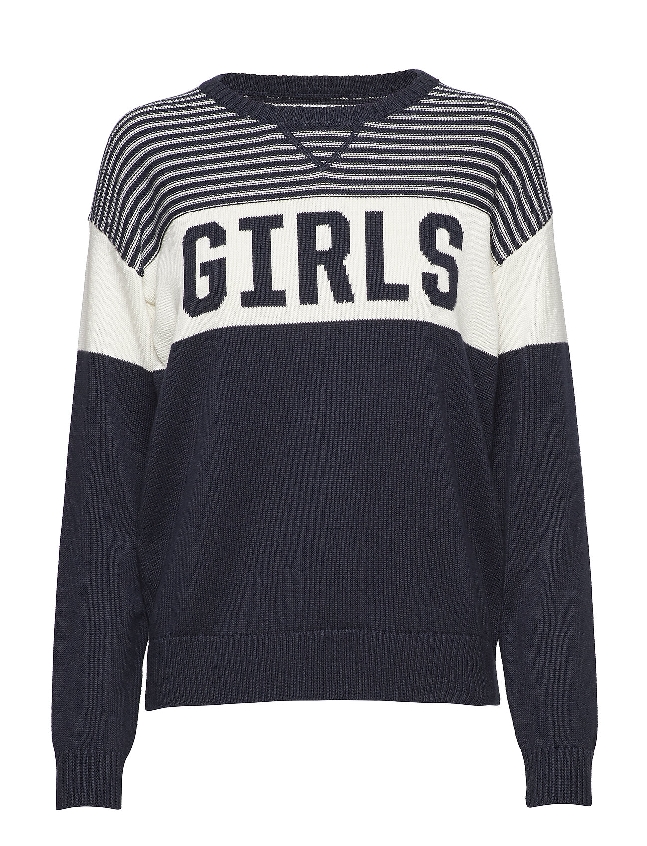 GANT Rugger R1. GIRLS CREW - MARINE
