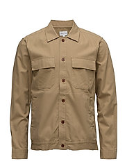 R1. CHINO SHIRT - BURNT GRASS