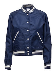R2. THE VARSITY JACKET - PERSIAN BLUE