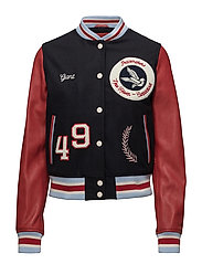 R1. THE LETTERMAN JACKET - MARINE