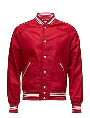 R2. THE VARSITY JACKET - RED