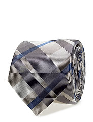 R. THE CHECK TIE - NAVY