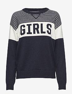 R1. GIRLS CREW - MARINE