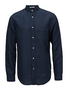 R2. FRENCH LINEN LOOSE FIT - DEEP OCEAN