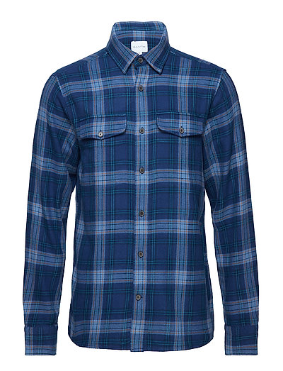 R2. HEAVY TWILL SHIRT - PERSIAN BLUE