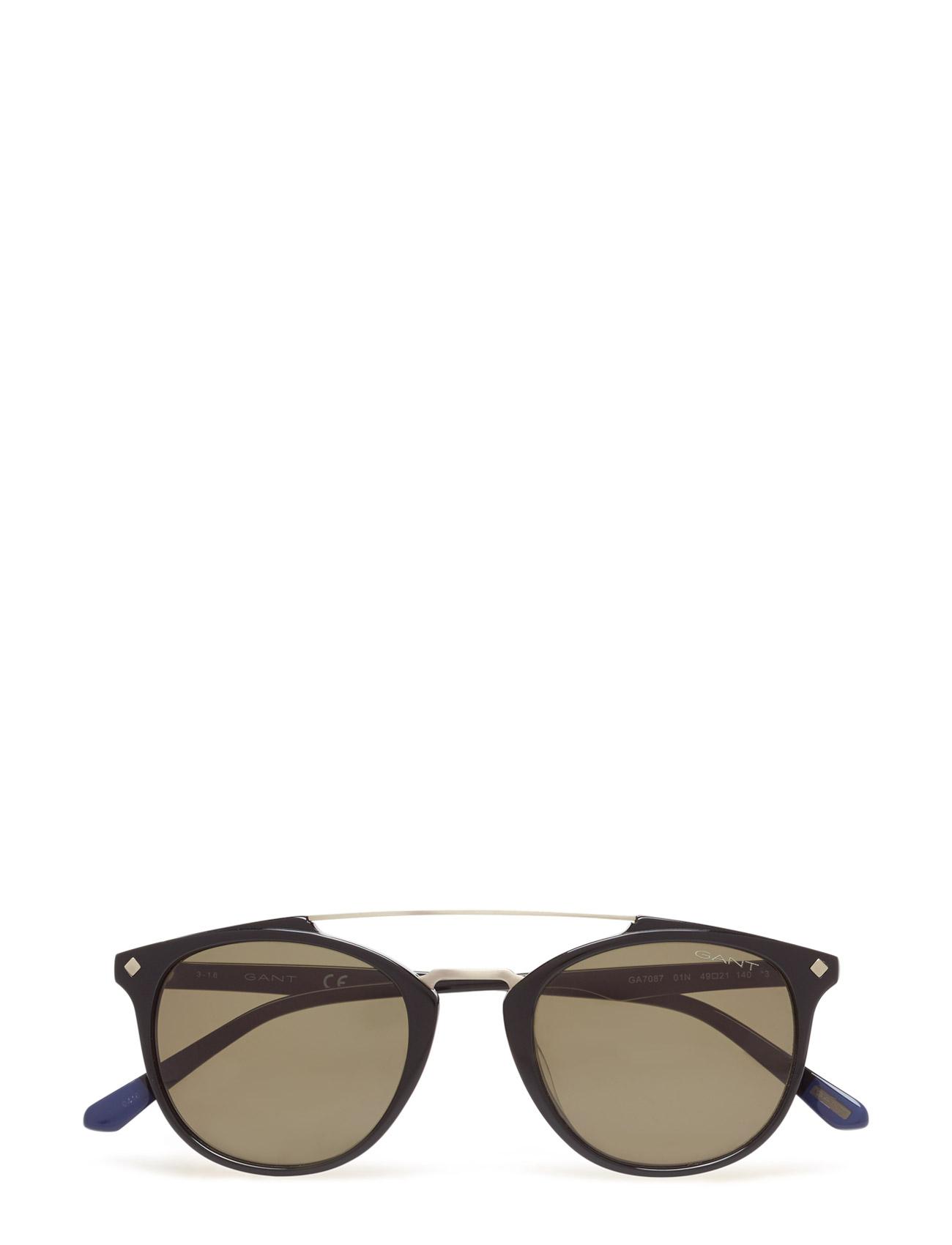 cad174eb02 Gant Sunglasses Men Ga7087 (01n Shiny Black   Green)