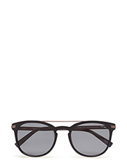GA7061 - 01D - SHINY BLACK / SMOKE POLARIZED