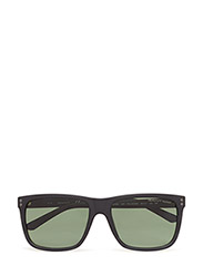 GA7081 - 02R MATTE BLACK / GREEN POLARIZED