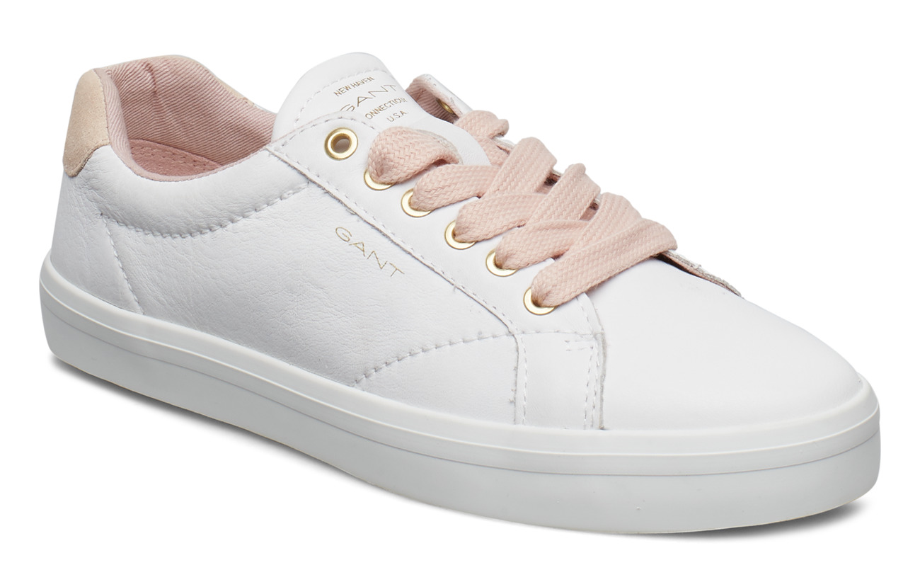 GANT Baltimore Low lace shoes - BRIGHT WHT/SIL.PINK