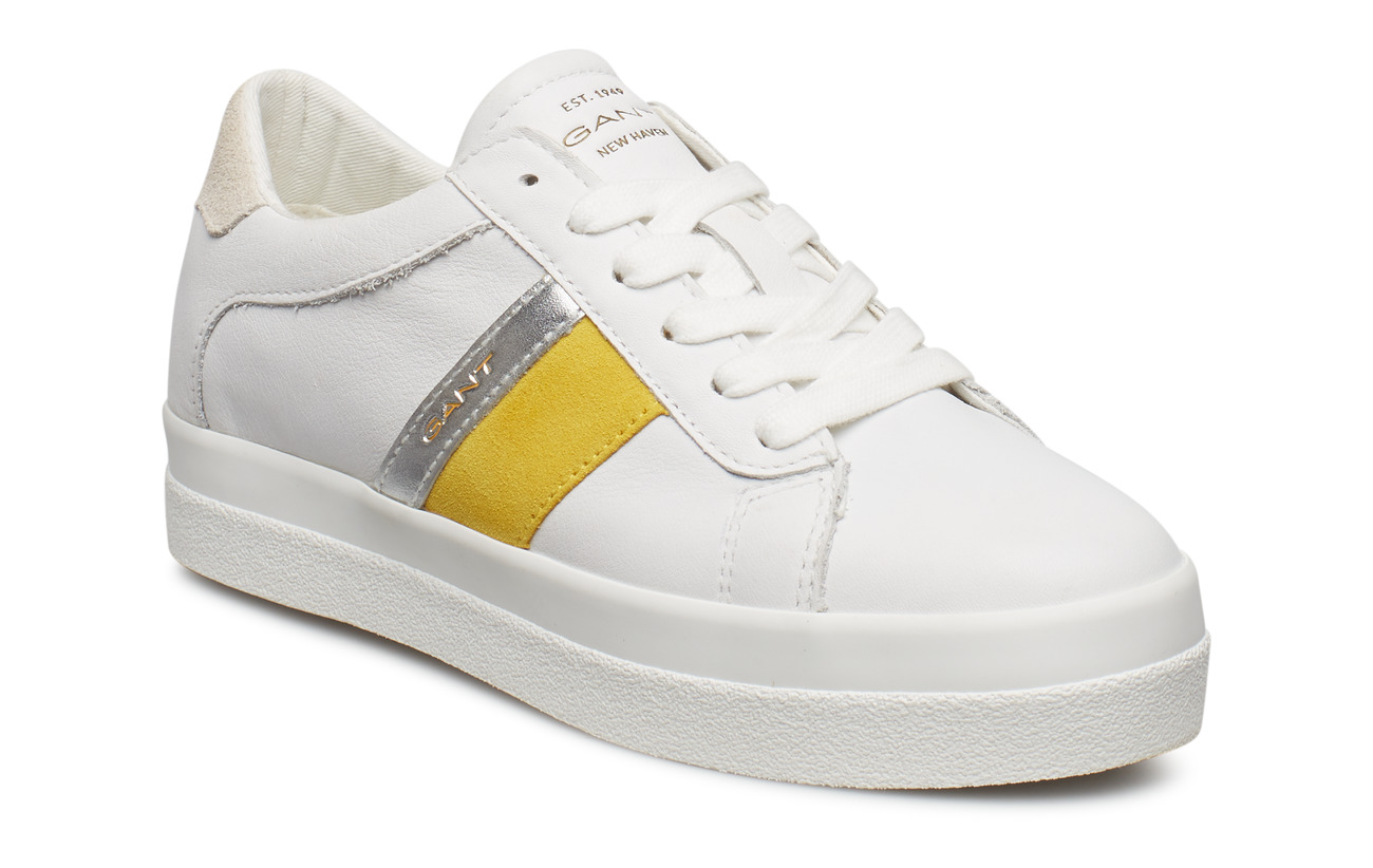 Aurora yellowGant Aurora ShoesbrWhtgo Lace Lace Low Low xodCQrtsBh