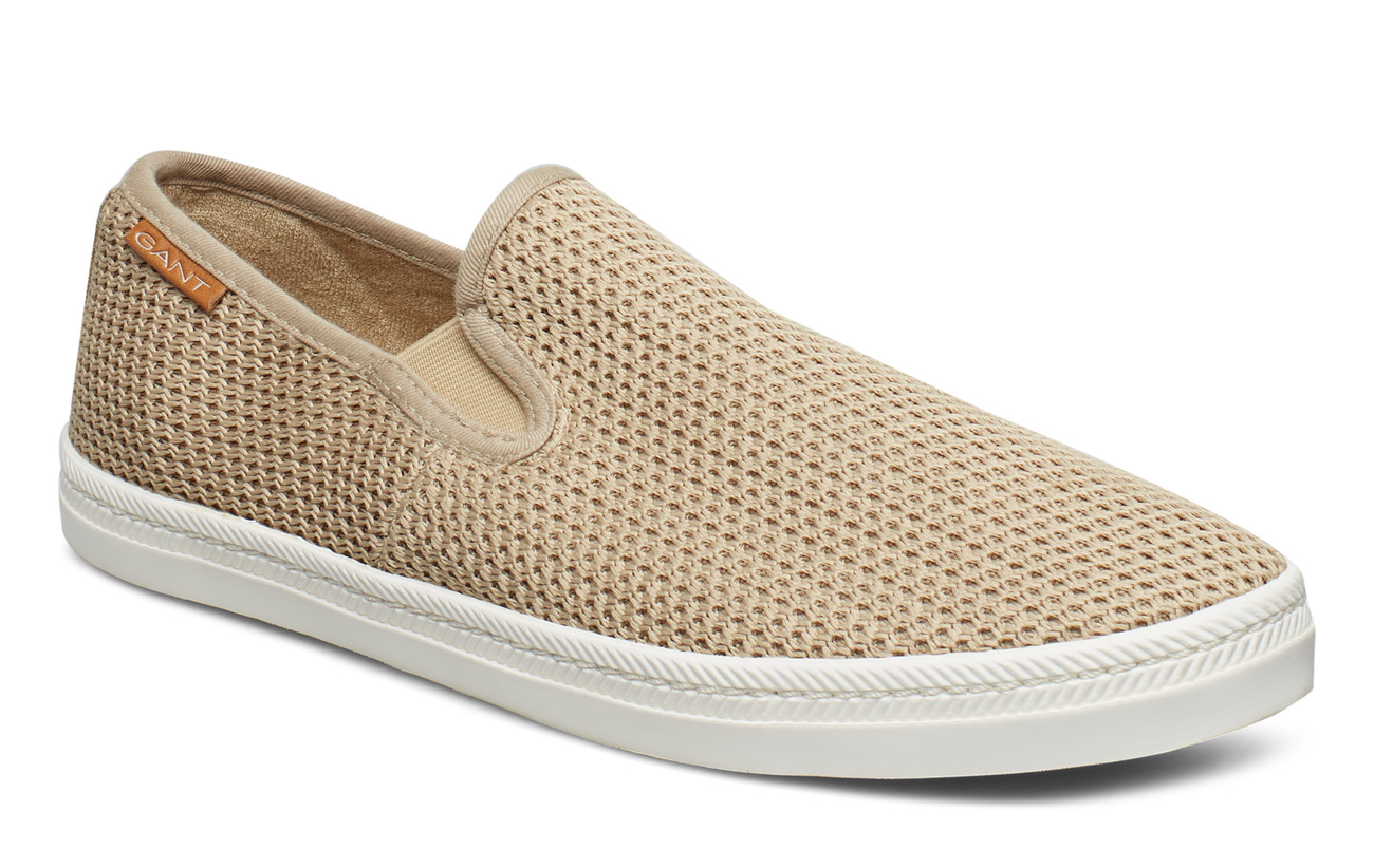 53528fbd552 Frank Slip-on Shoes (Darkkhaki) (£38.50) - GANT - | Boozt.com