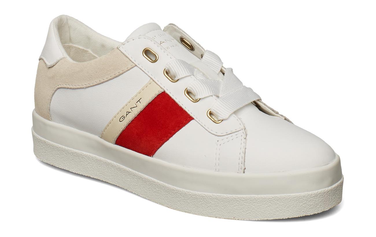 GANT Aurora Low lace shoes - BRIGHT WHITE