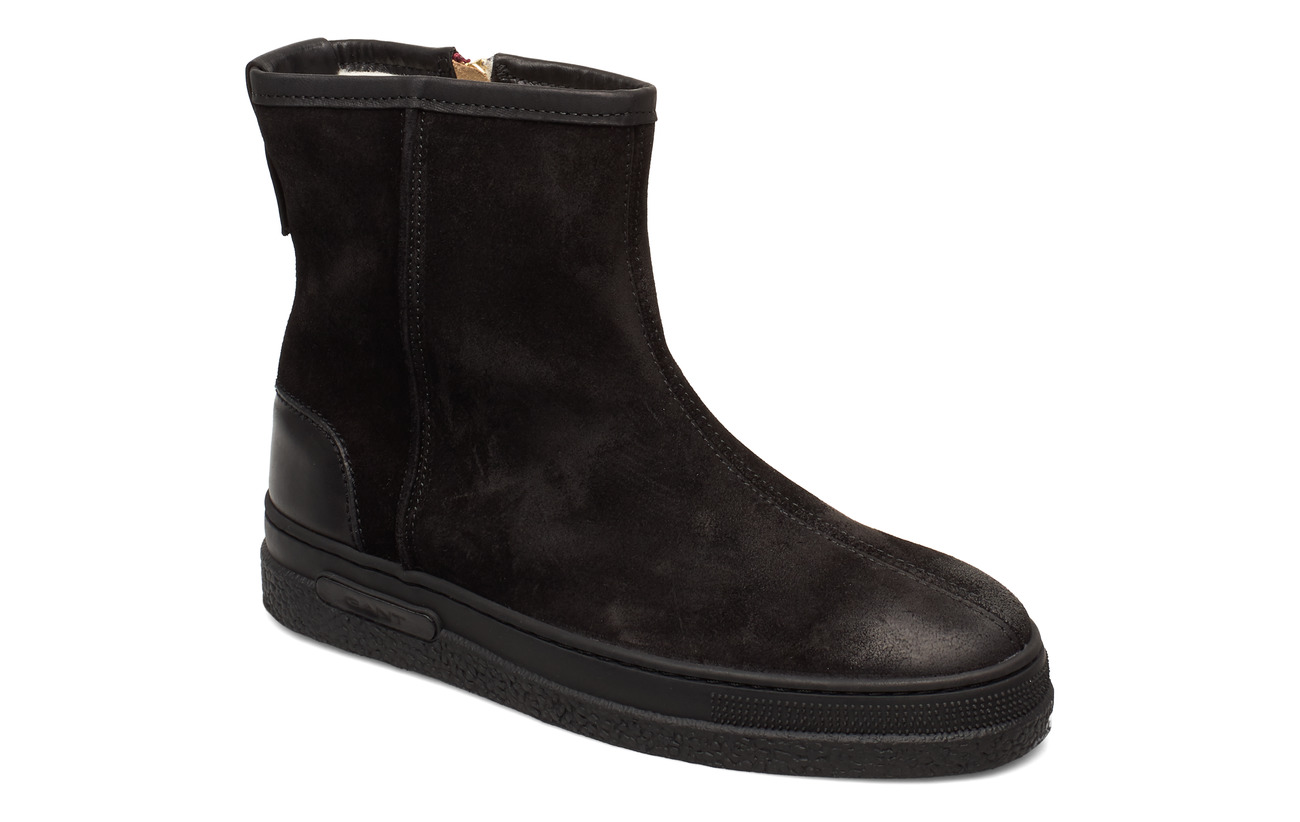 GANT Maria Mid Zip boot - BLACK