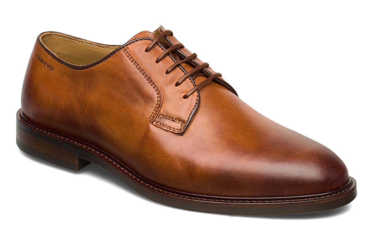 GANT Ricardo Low lace shoes - COGNAC