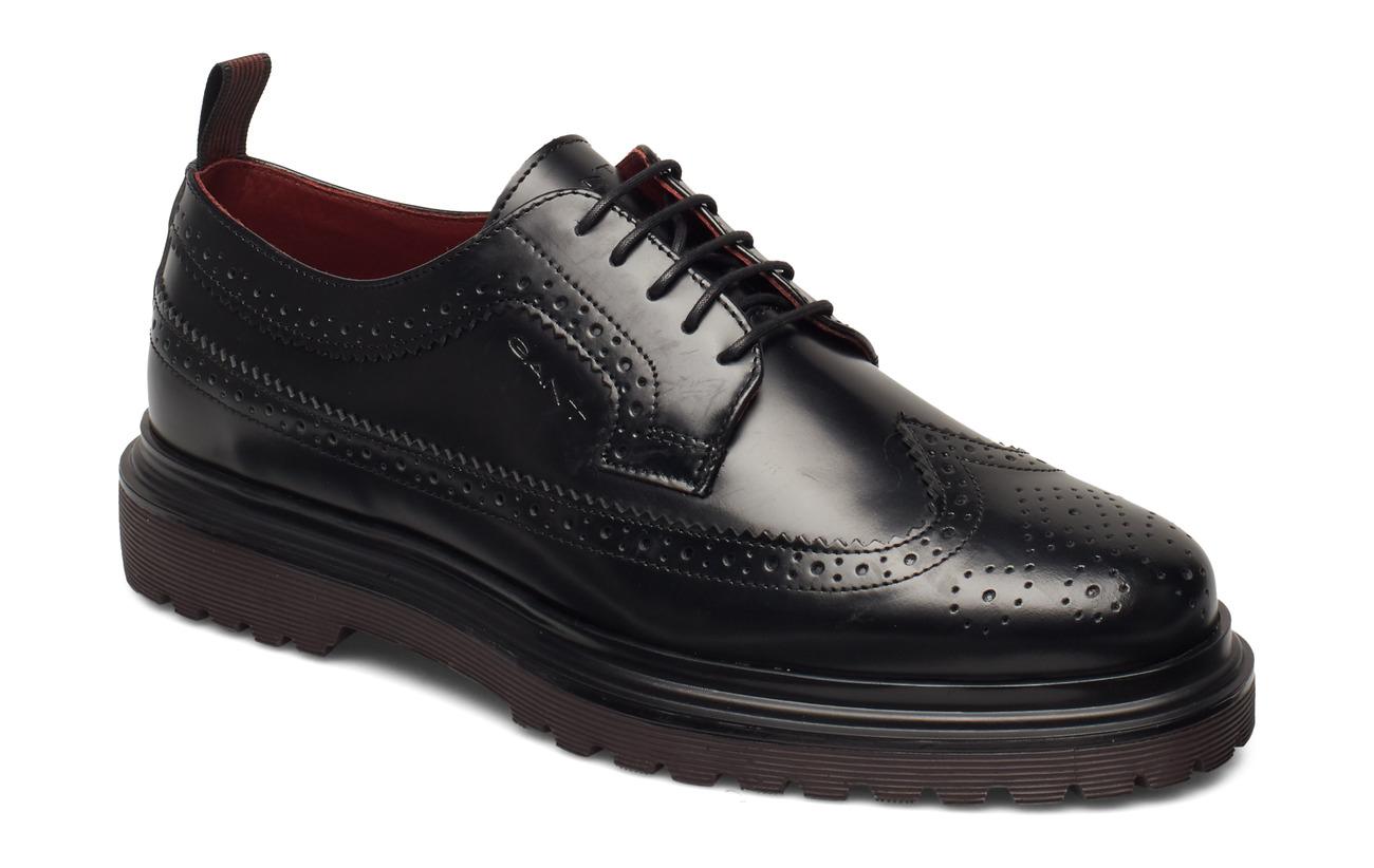 GANT Beaumont Low lace shoes - BLACK