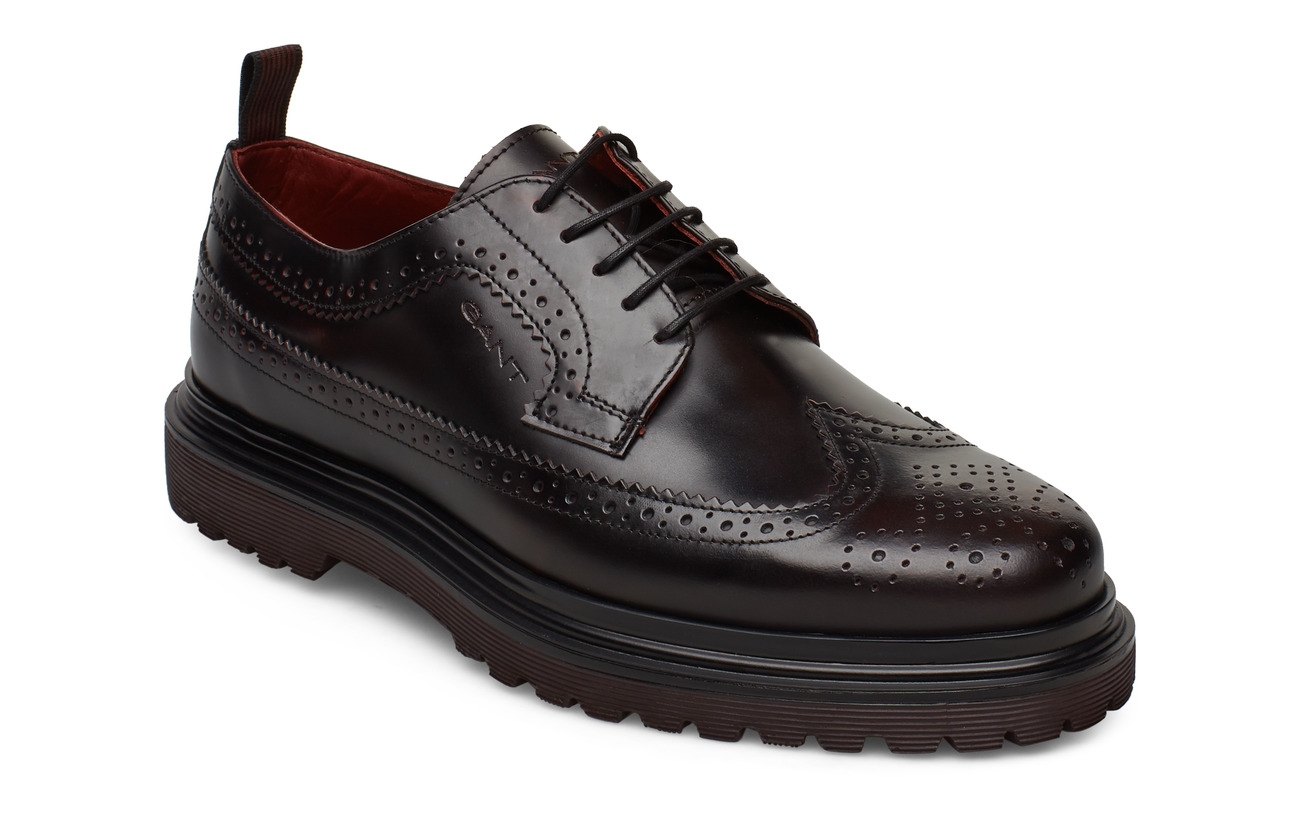 GANT Beaumont Low lace shoes - PORT RED