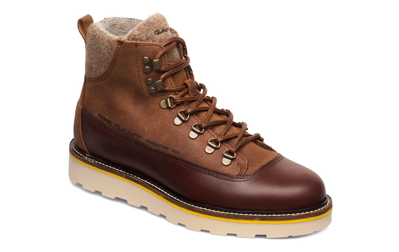 GANT Don  Mid lace boot - SIENNA BROWN