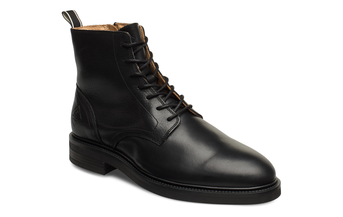 GANT Martin  Mid lace boot - BLACK