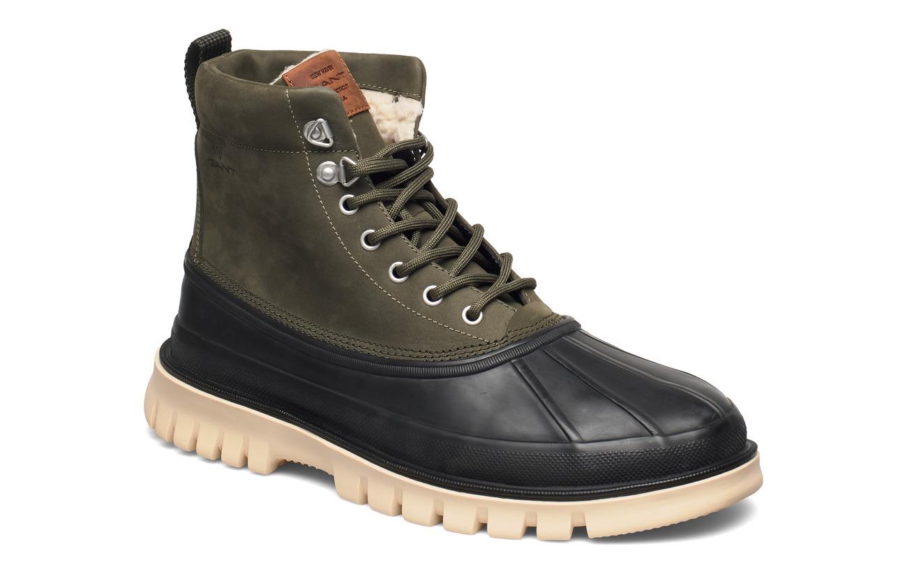GANT Colorado Mid lace boot - NAVY/COGNAC/DK.ORANGE