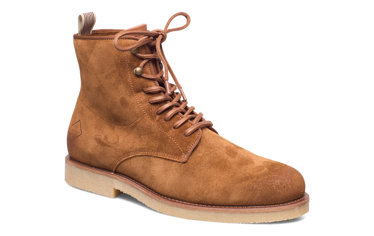 GANT Barkley Mid lace boot - COGNAC