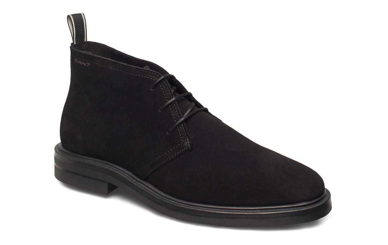 GANT Fargo Mid lace boot - BLACK