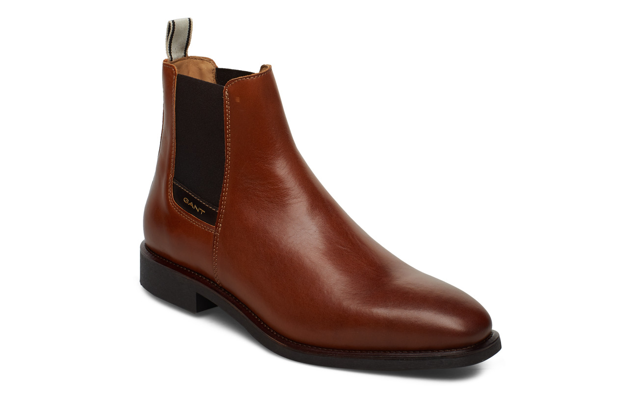 GANT James Chelsea leathe - COGNAC
