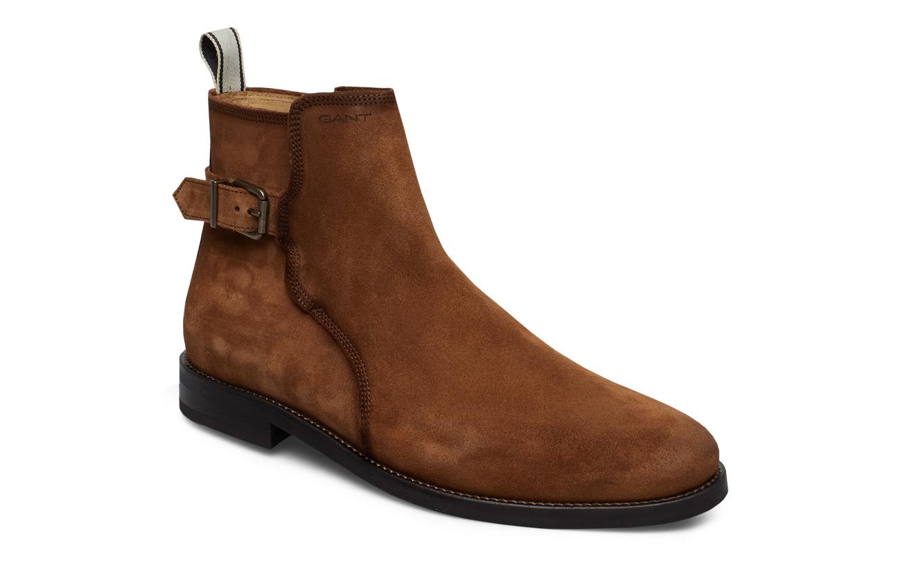 GANT Max Mid Zip boot - COGNAC