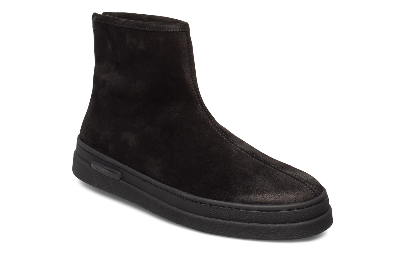 GANT Creek Mid Zip boot - BLACK