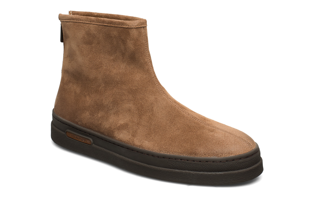 GANT Creek Mid Zip boot - MUD BROWN