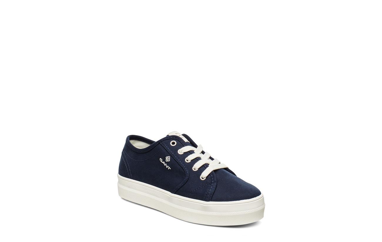 GANT Leisha Low lace shoes - MARINE