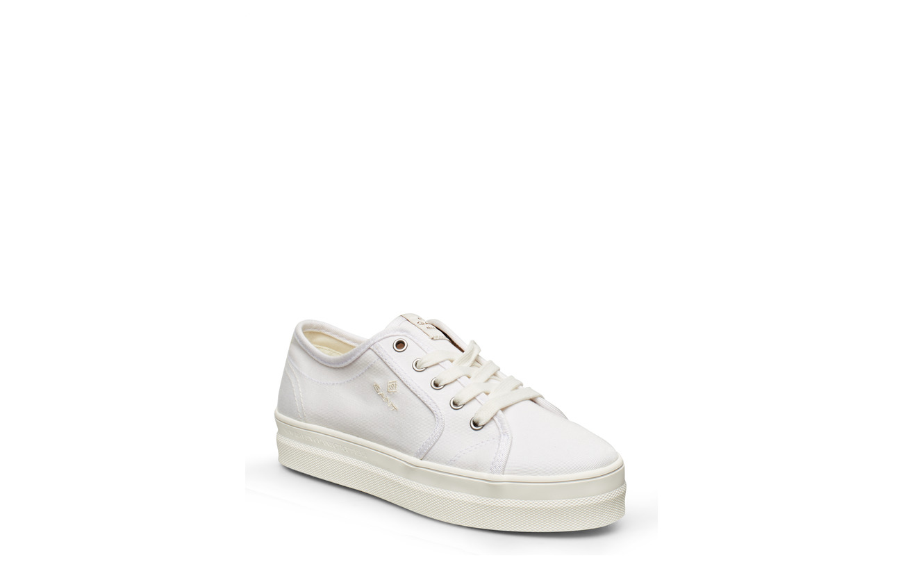 GANT Leisha Low lace shoes - WHITE