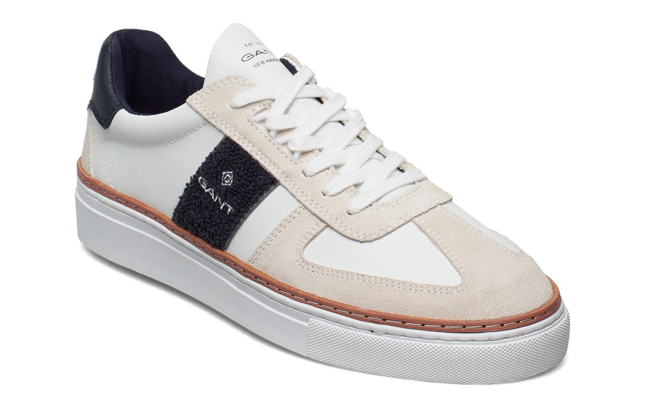 GANT Mc Julien Sneaker - WHITE/MARINE