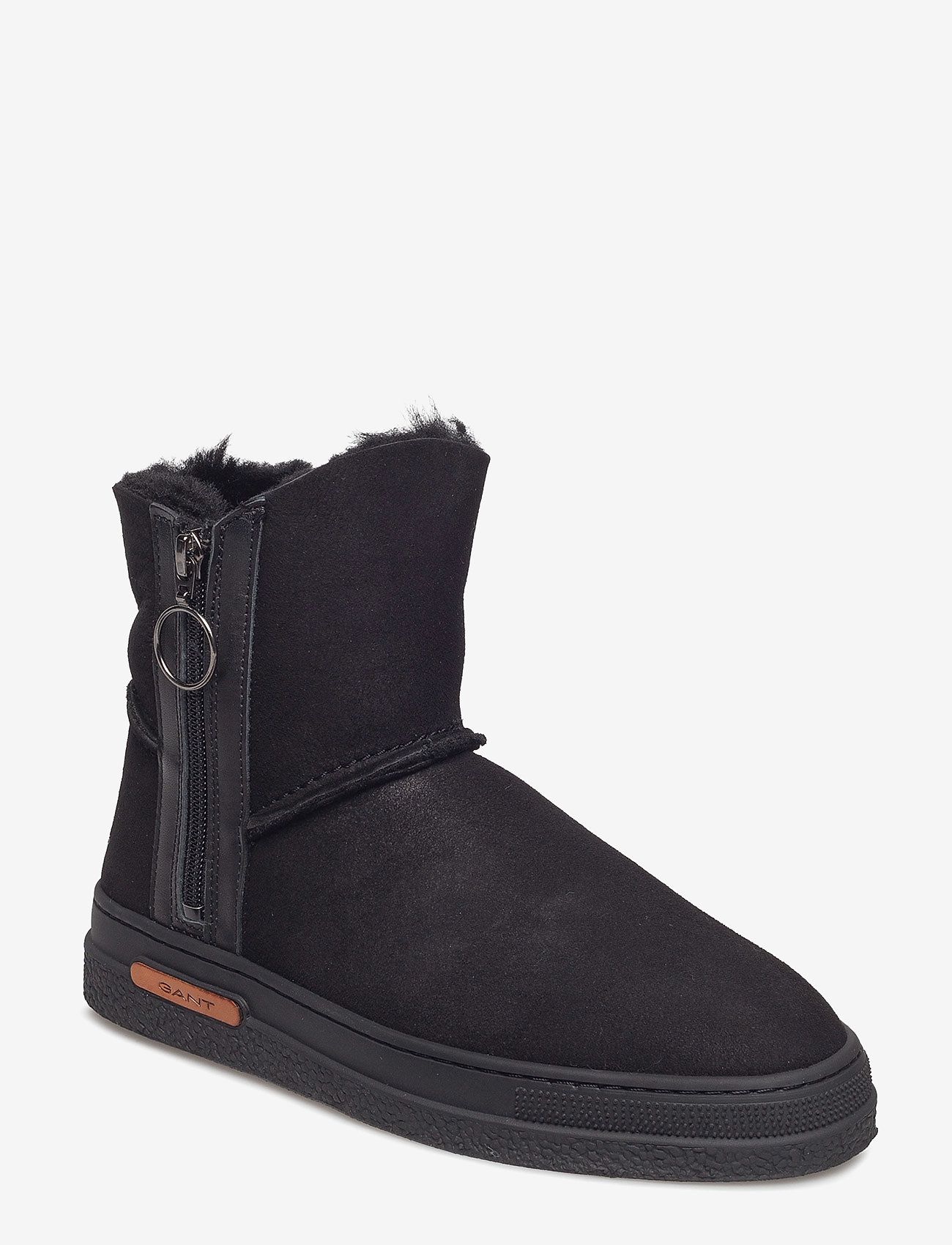 GANT - Maria Mid Boot - flat ankle boots - black - 1