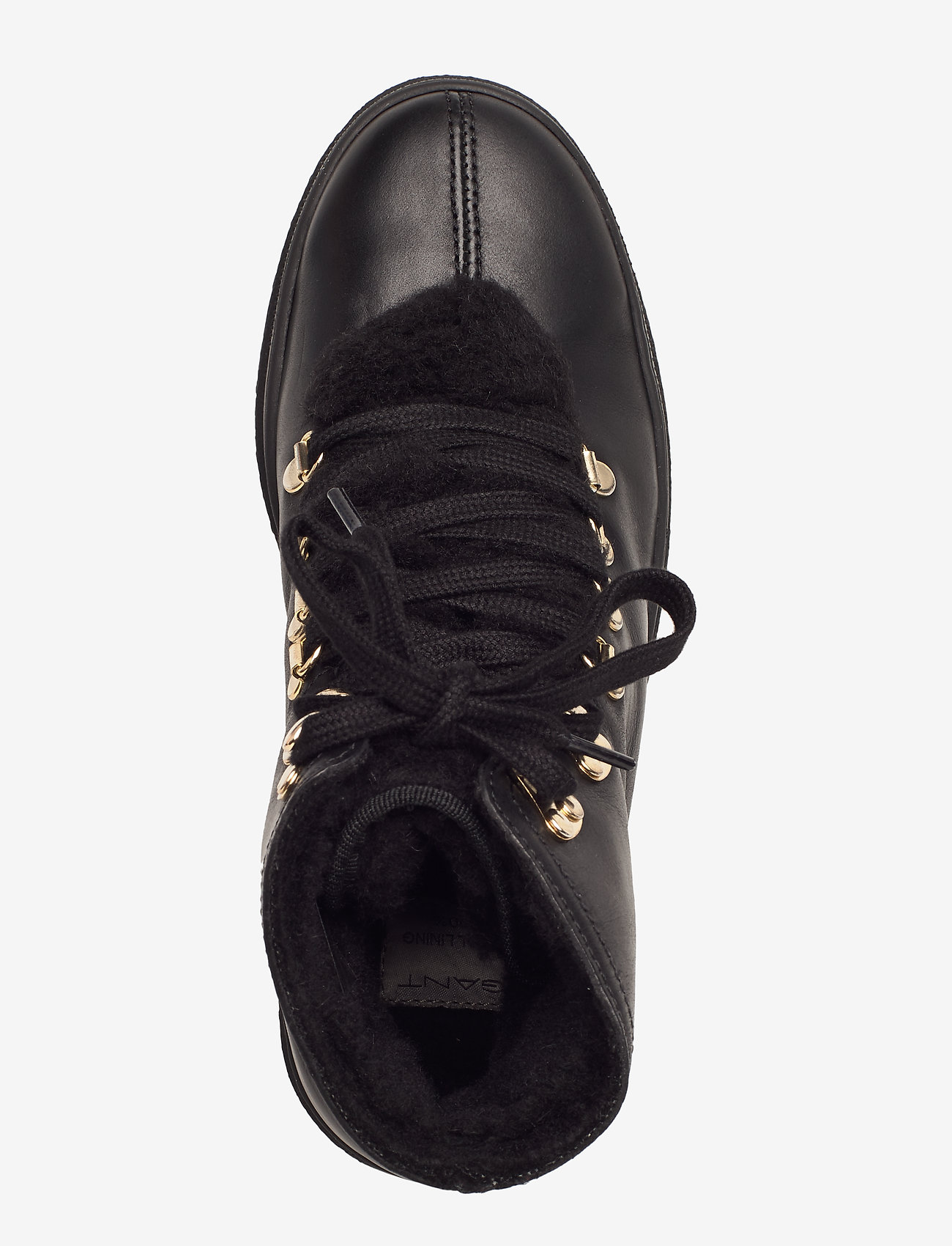Maria Mid Lace Boot (Black) - GANT