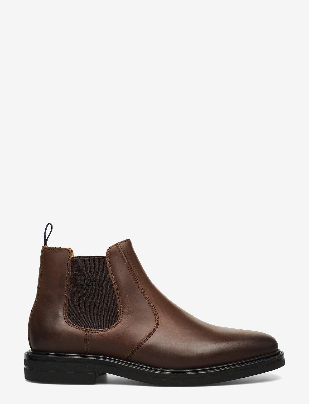 Gant Fargo Chelsea - Boots Dark Brown