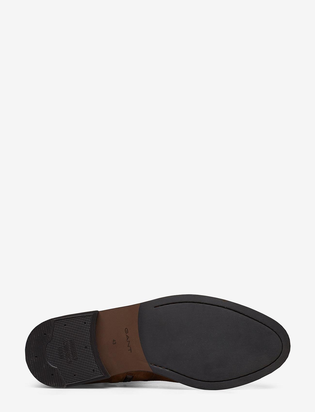 Max Mid Zip Boot (Cognac) - GANT