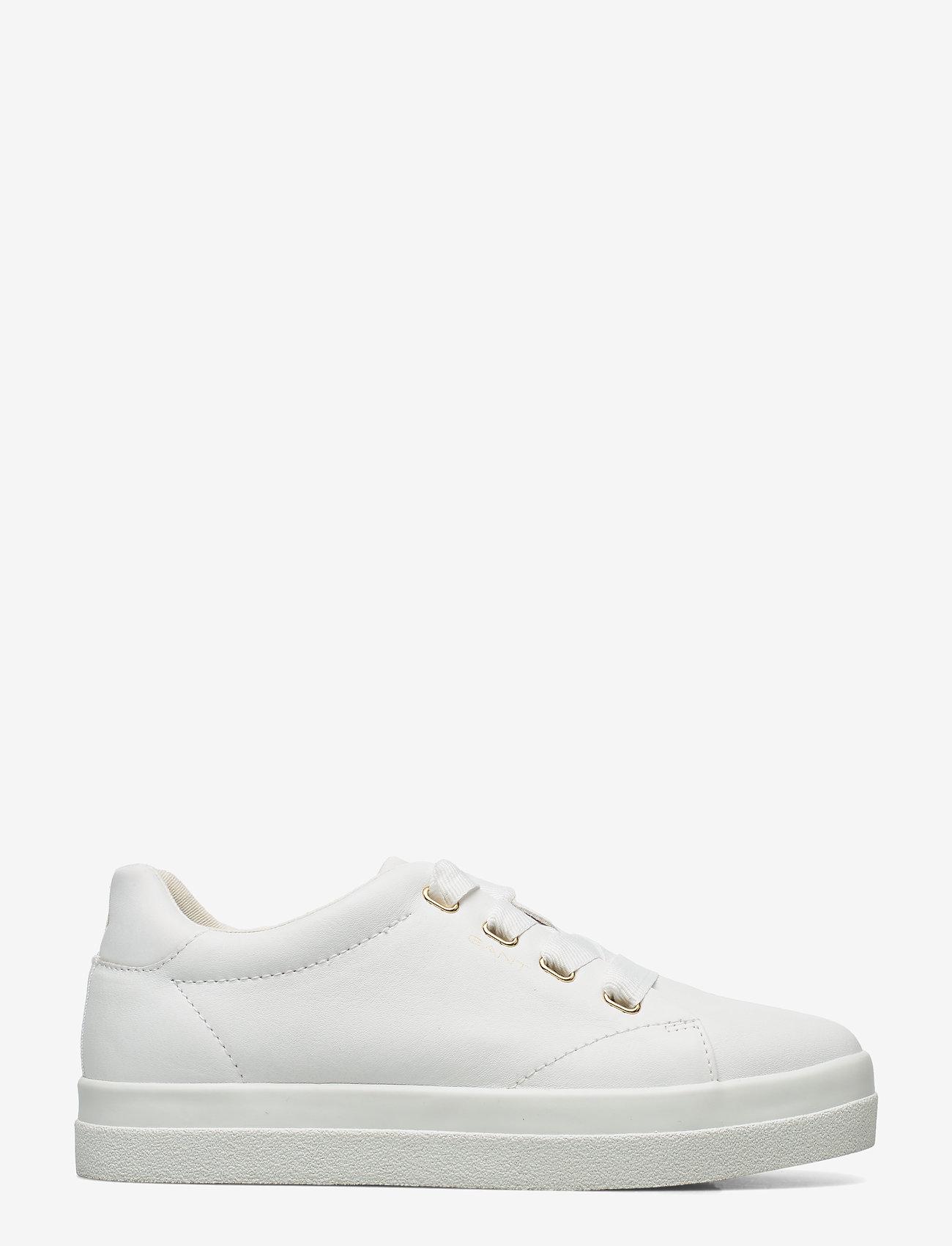 GANT - Avona Sneaker - låga sneakers - bright white