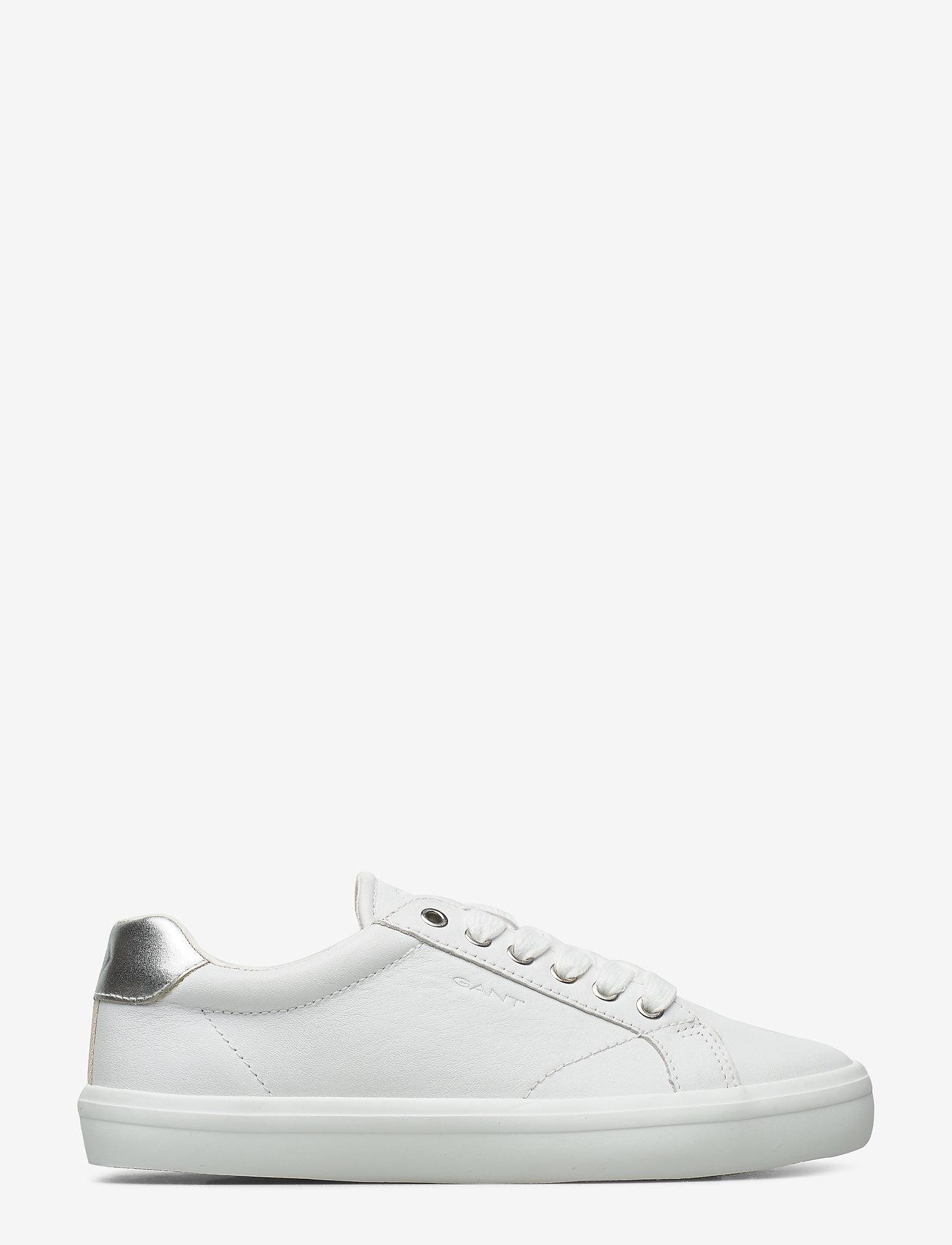 GANT - Seaville Sneaker - låga sneakers - bright wht./silver