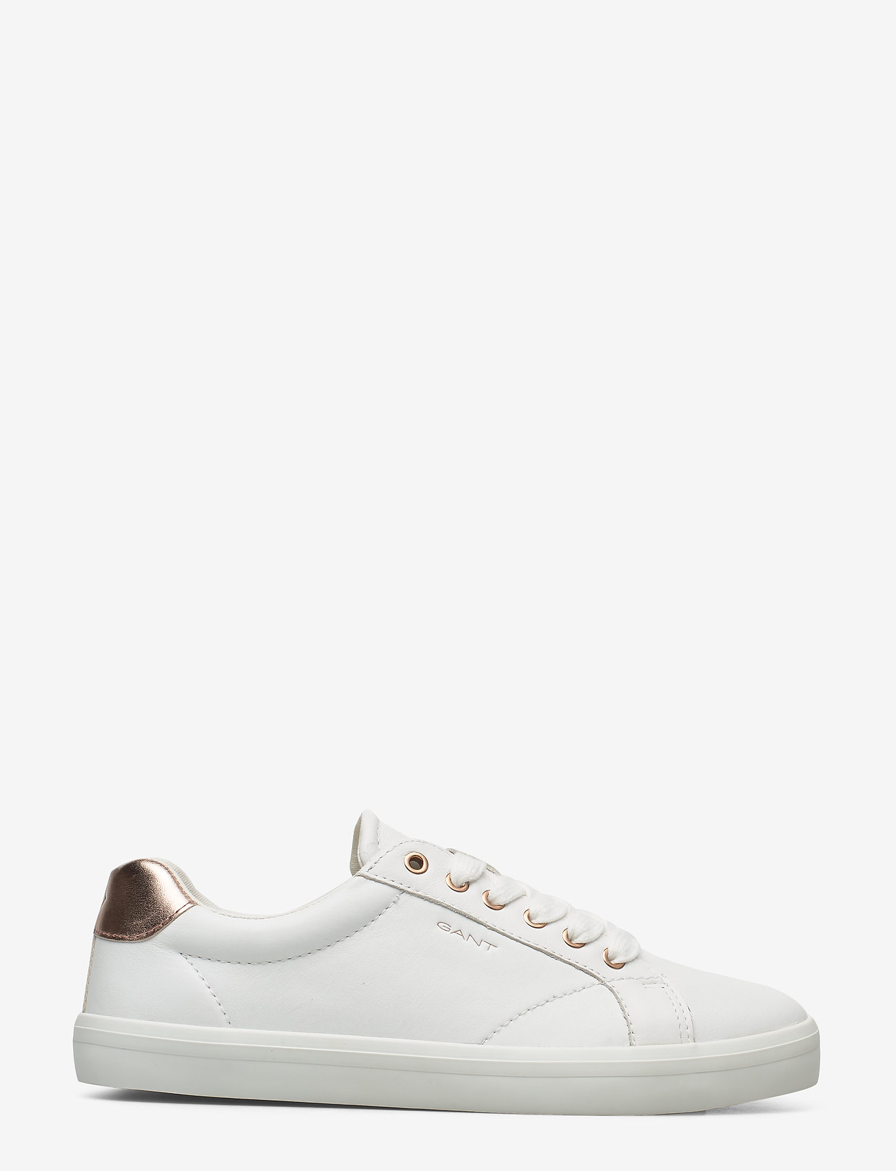GANT - Seaville Sneaker - låga sneakers - br.wht./rose gold