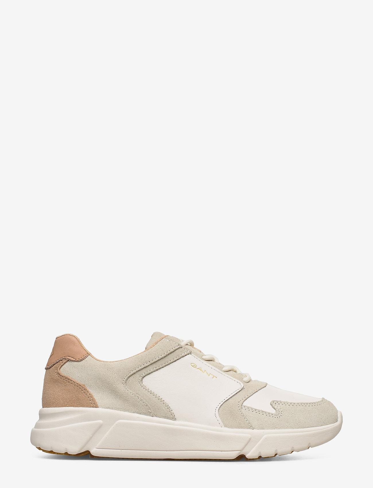 Cocoville Sneaker (Br.wht./cream/beige) (714.35 kr) - GANT