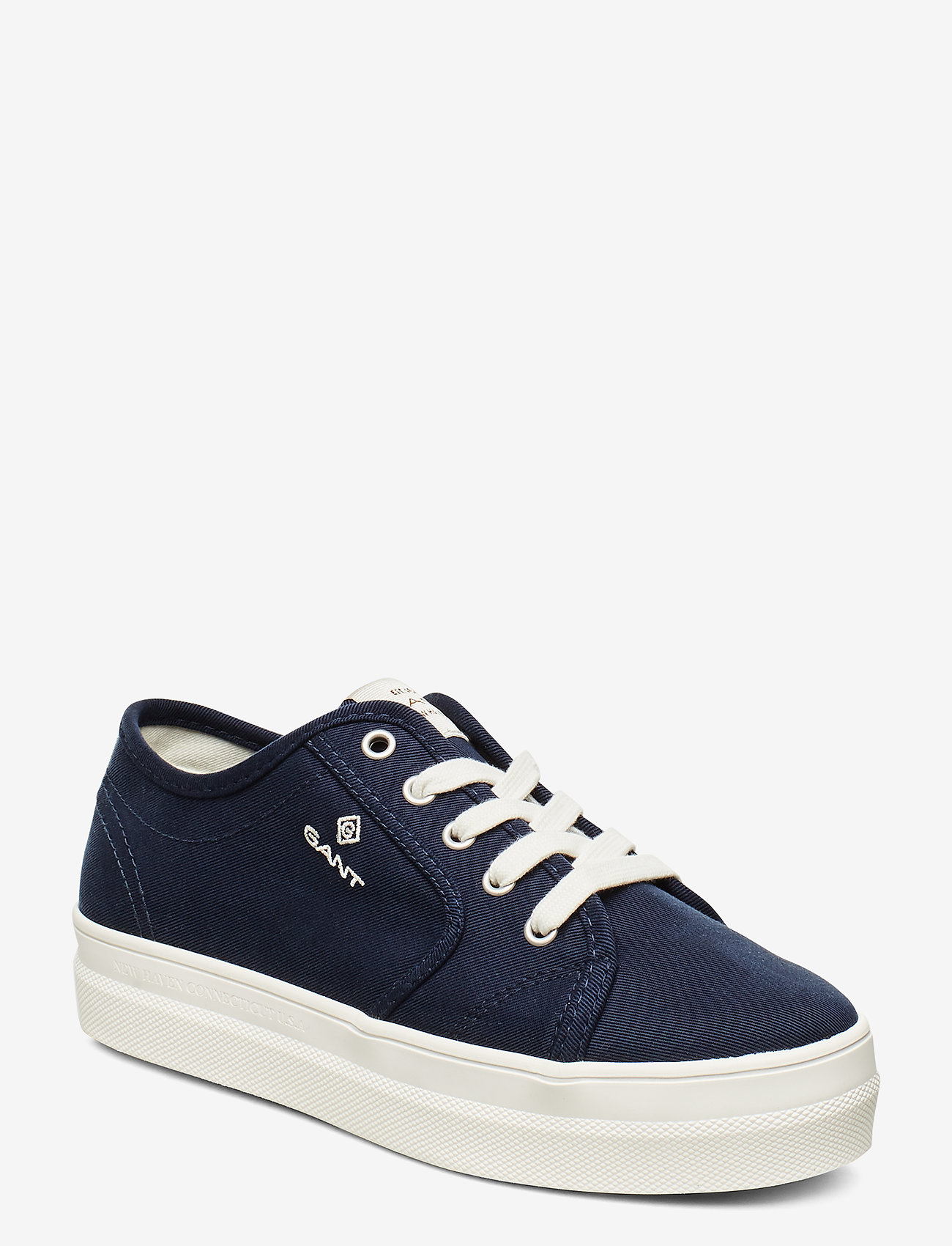 GANT - Leisha Low lace shoes - low top sneakers - marine - 0