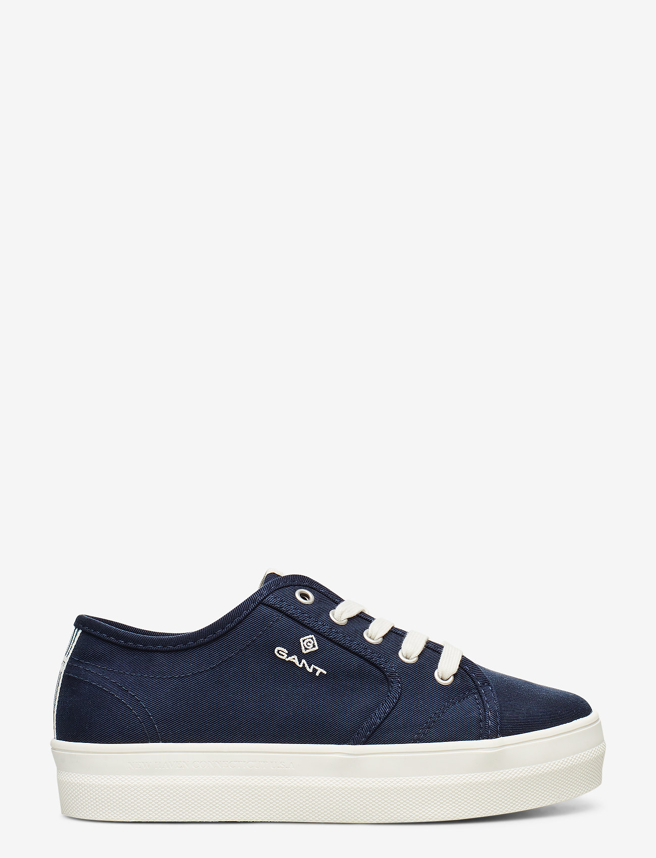 GANT - Leisha Low lace shoes - low top sneakers - marine - 1