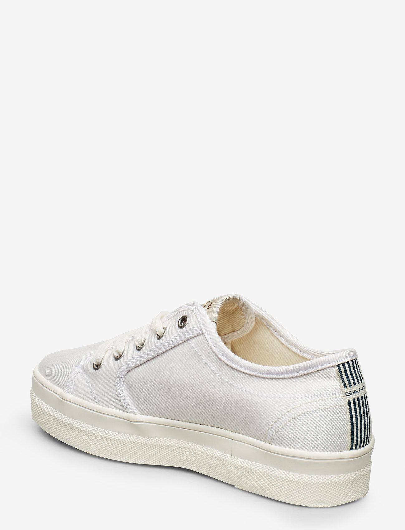 Leisha Low Lace Shoes (White) (489.30 kr) - GANT