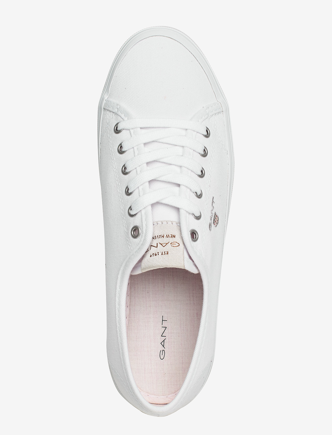 Preptown Low Lace Shoes (Bright White) (449.25 kr) - GANT