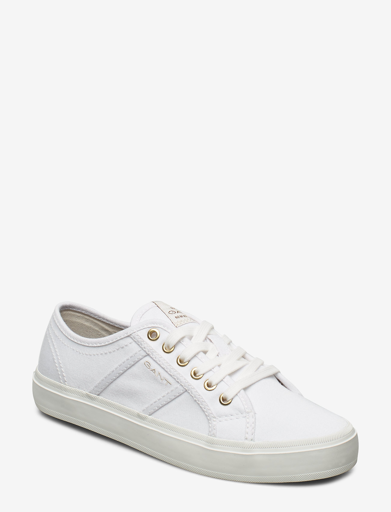 GANT - Pinestreet Low laceshoes - low top sneakers - white